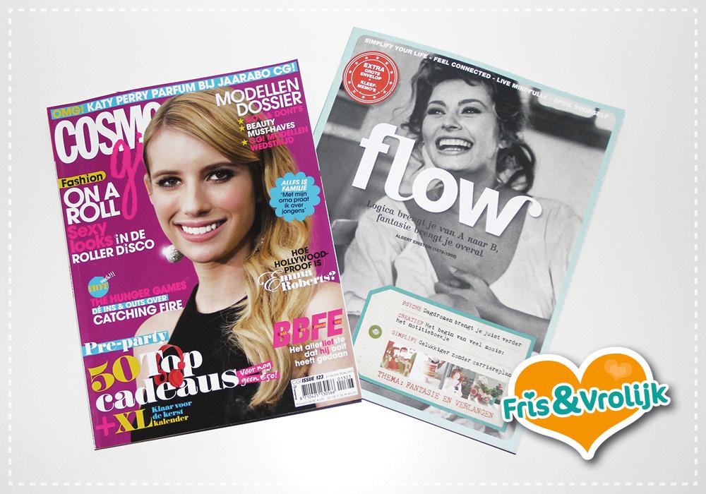 tijdschrift cosmogirl flow
