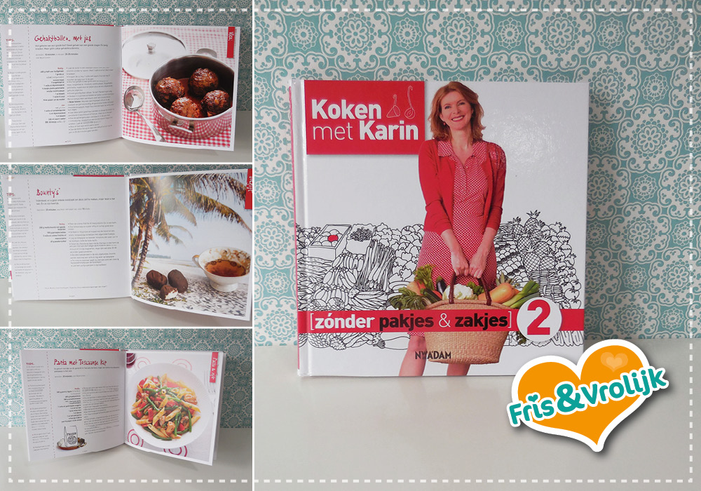 koken met karin zonder pakjes en zakjes 2 review