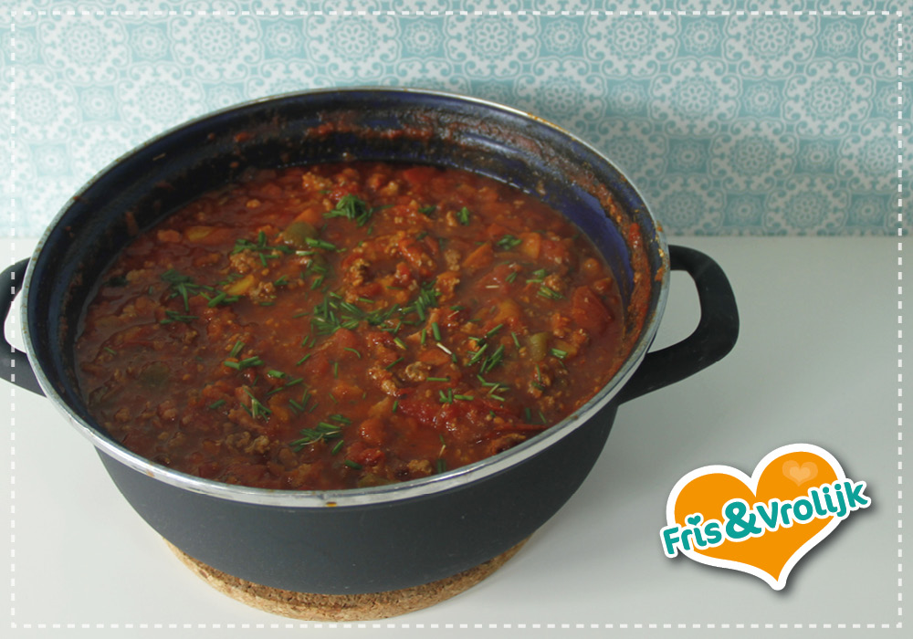 zelfgemaakte pastasaus tomatensaus