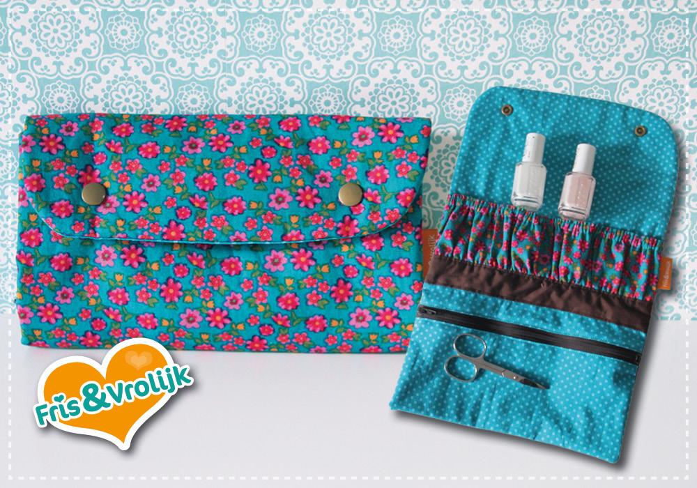 manicure wallet noodlehead nagellaktasje