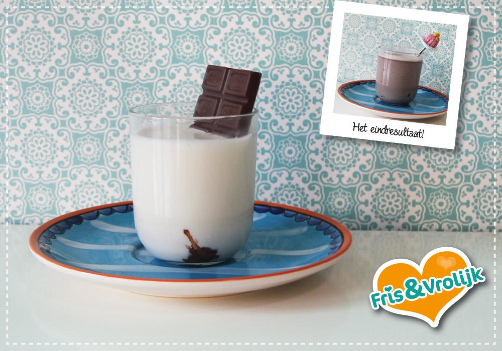 Chocolademelk onderzeeboot recept