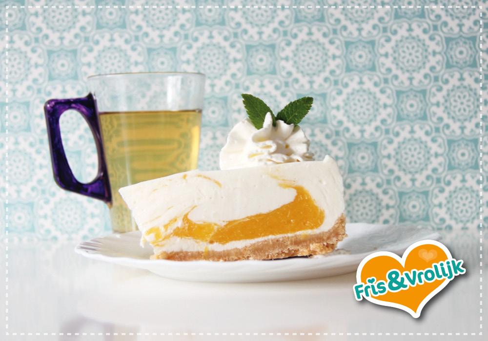 recept mango yoghurttaart