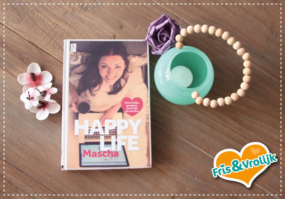 boek beautygloss happy life mascha