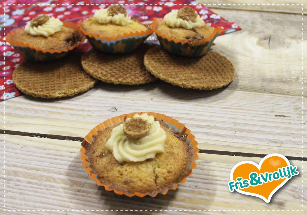 stroopwafel cupcakes recept