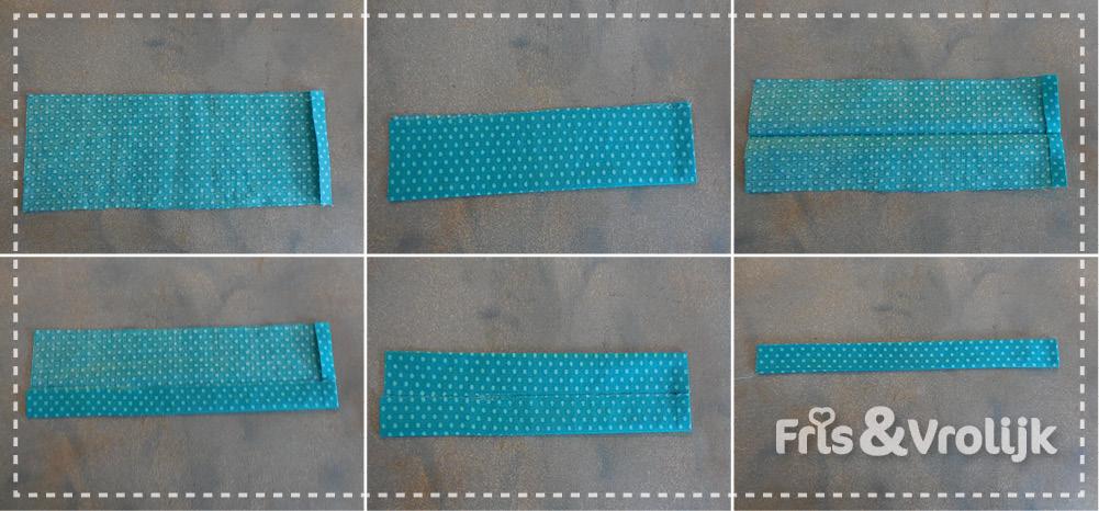 Tutorial speldenkussen op je naaimachine stap 2