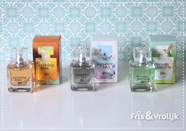 etos eigen merk geurtjes geuren parfum