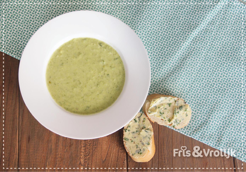 Recept lente ui soep lenteuisoep